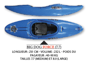 Big Dog Force Canoe