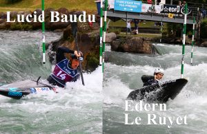 Edern Le Ruyet, Lucie Baudu