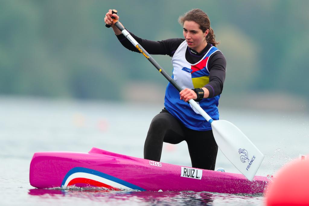 Laura Ruiz C1 200m : sélections olympiques de sprint