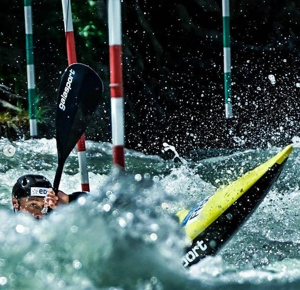 Benjamin Renia Championnats d'Europe slalom