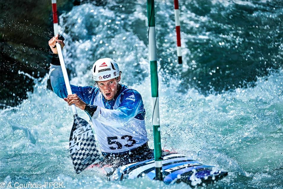 En route pour Tokyo. Championnats d'Europe slalom 2021