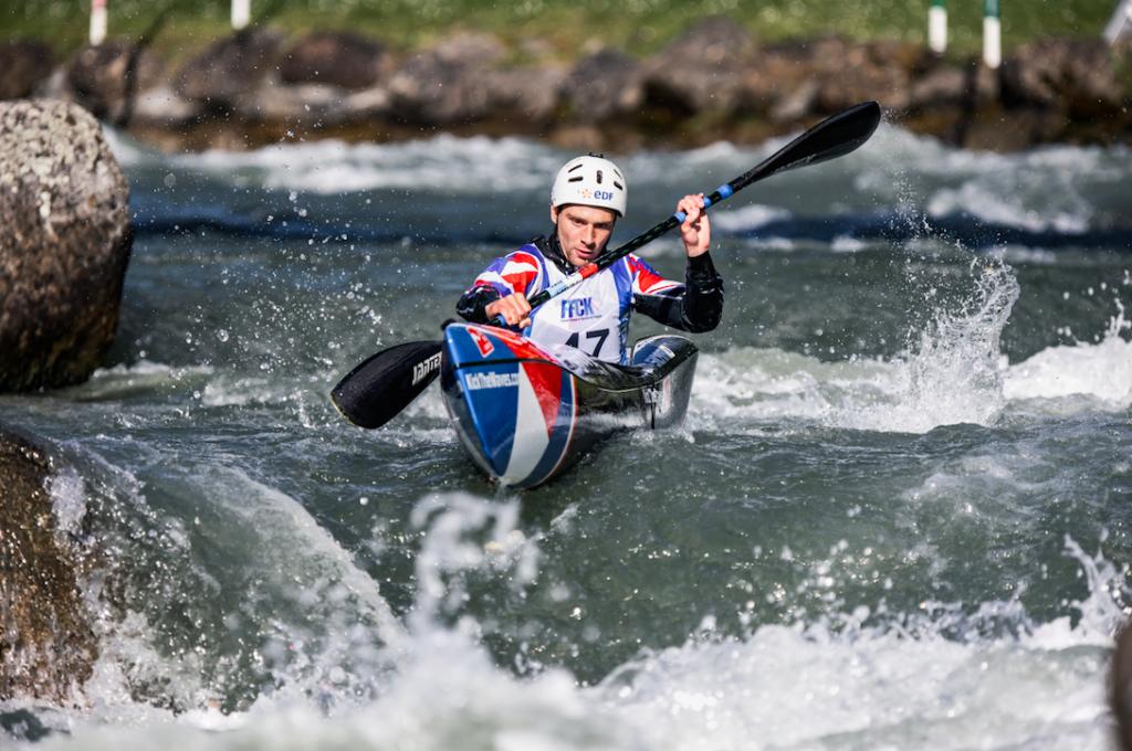 Sélections Equipe de France kayak à Pau